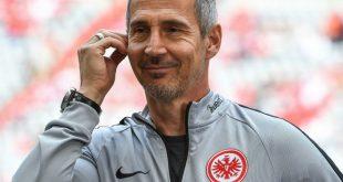 Adi Hütter und die Eintracht erwarten Quali-Gegner