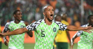 William Troost-Ekong erzielte das Siegtor für Nigeria