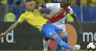 Everton beim Finaltriumph gegen Peru