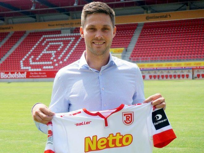 Jahn Regensburg nimmt Andreas Albers unter Vertrag