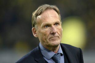 Hans-Joachim Watzke sieht beim BVB kein Stürmerproblem