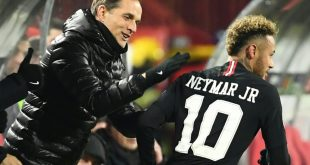 Tuchel bleibt in Bezug auf Neymar (r.) gelassen