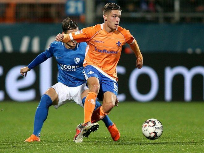Marvin Mehlem verlängert in Darmstadt bis 2022