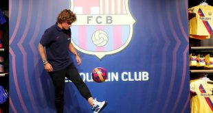 Griezmann hat sich bei Barcelona vorgestellt