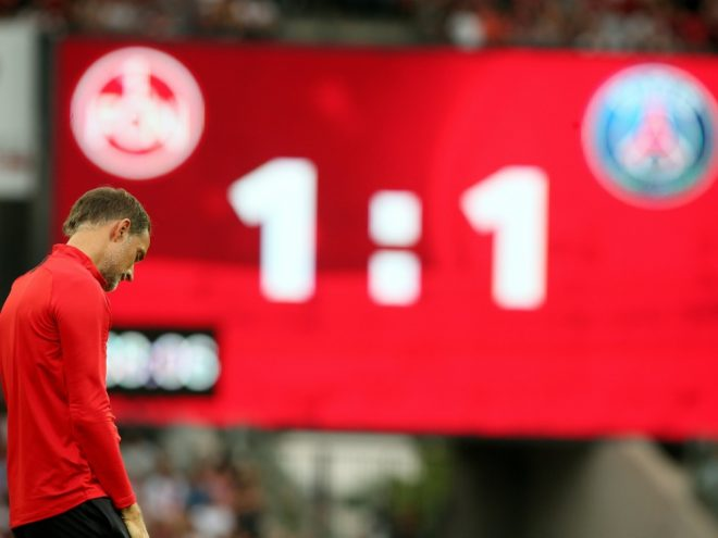 Unentschieden für PSG und Thomas Tuchel