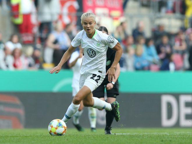 Pernille Harder erzielte den Siegtreffer für den VfL