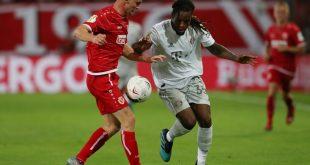 Die Cottbus-Spieler verlangten Bayern München einiges ab