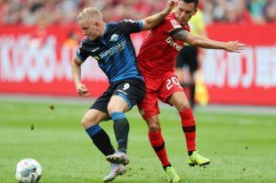 Leverkusen gewann 3:2 gegen Paderborn