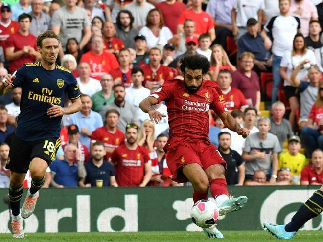 Mohamed Salah erzielt zwei Treffer gegen Arsenal