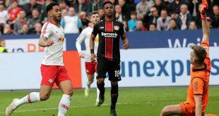 Cunha traf gegen Leverkusen sehenswert per Lupfer