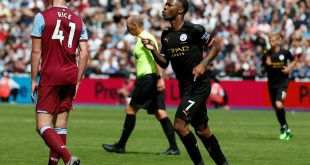 Raheem Sterling erzielt gegen West Ham drei Tore