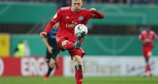 Der Hamburger SV verleiht David Bates nach England