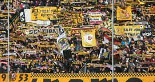 Nach Sturz: Ein Dynamo-Fan erlitt schwere Verletzungen