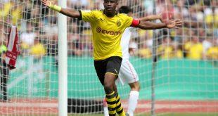Kameruner Moukoko schießt sechs Tore für den BVB