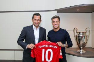 Coutinho erhält bei den Bayern die Rückennummer 10