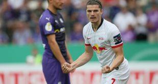 Marcel Sabitzer (r.) erzielte zwei Tore