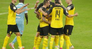 Borussia Dortmund feiert einen ungefährdeten Sieg