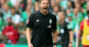 Bremens Trainer Kohfeldt hadert mit der Niederlage