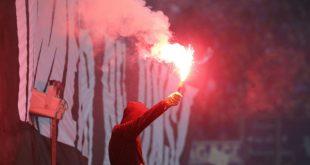 Pyrotechnik-Krawalle von Mainz-05-Anhängern