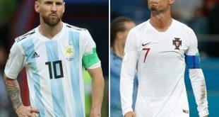 """Ronaldo hofft auf eine """"Date"""" mit Messi."""