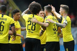 Der BVB schlug den FC Augsburg mit 5:1