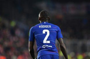 Antonio Rüdiger ist wieder im Mannschaftstraining