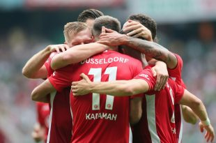 Düsseldorf gewann in Bremen mit 3:1