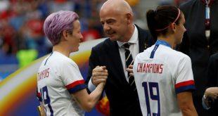 Gianni Infantino möchte Frauenfußball weiter fördern