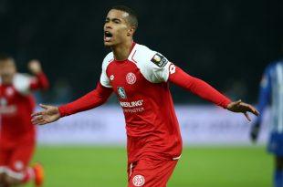 Quaison erzielte die Mainzer Führung gegen die Hertha