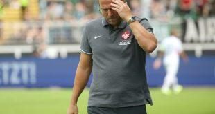 Sascha Hildmann steht in Kaiserslautern vor dem Aus