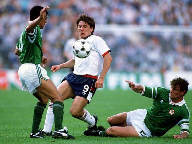 Nationalspieler von 1986 bis 1996: Peter Beardsley (M.)