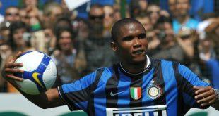 Eto'o spielte unter anderem für Inter Mailand