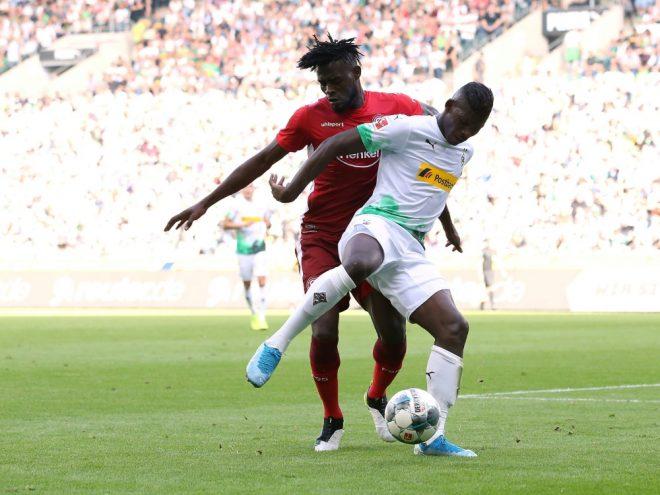 Borussia Mönchengladbach gewann gegen Düsseldorf mit 2:1