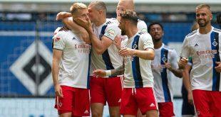 Kantersieg: Der Hamburger SV bezwingt Aue 4:0