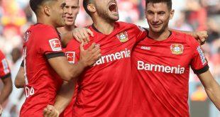 Volland und Alario schießen Bayer zum Sieg