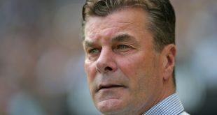 HSV-Coach Dieter Hecking freut sich auf das Stadtderby
