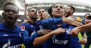Der FC Schalke gewann sein Auswärtsspiel bei RB Leipzig