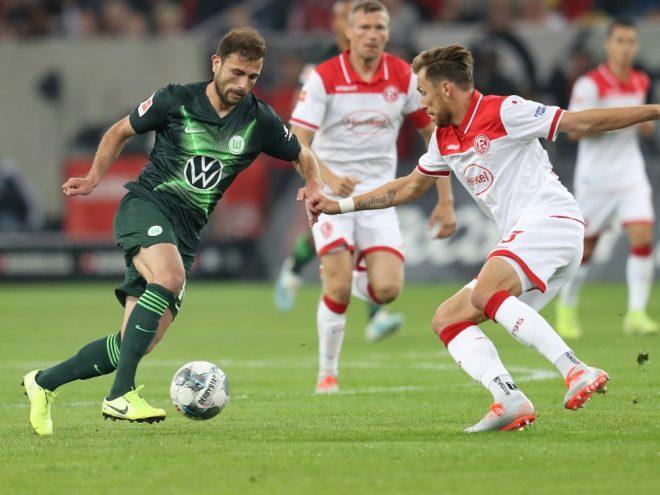 Kein Sieger: Wolfsburg und Düsseldorf trennen sich 1:1