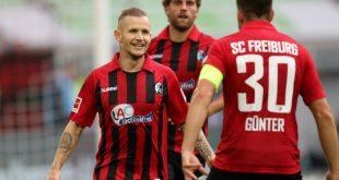 Der SC Freiburg gewinnt auch bei Fortuna Düsseldorf