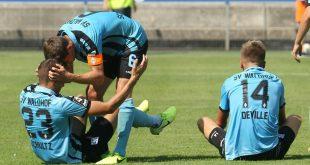 Aufsteiger Waldhof marschiert weiter in der dritten Liga