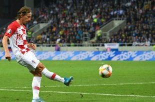 Luka Modric erzielte den Führungstreffer für sein Team