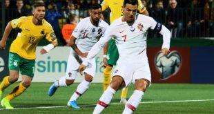 Ronaldo erzielte gegen Litauen vier Tore für Portugal
