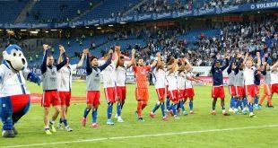 Der Hamburger SV springt durch das 2:0 auf Rang eins