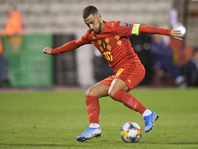 Mit Belgien bei der EM dabei: Eden Hazard