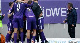 Erzgebirge Aue gewinnt mit 4:3 gegen Nürnberg