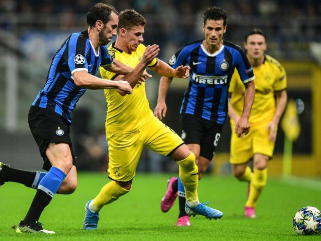 Borussia Dortmund verliert mit 0:2 in Mailand