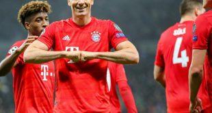 Die Bayern feiern in London ihren zweithöchsten CL-Sieg
