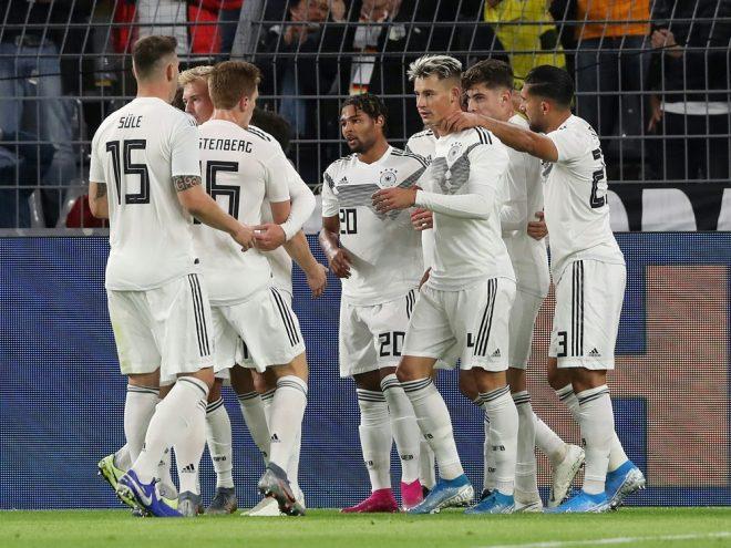 Die DFB-Elf ging 2:0 in Führung, gewann aber nicht