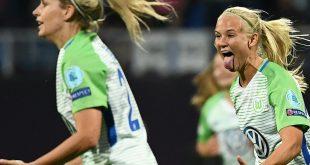 Der VfL Wolfsburg ist auf Viertelfinal-Kurs