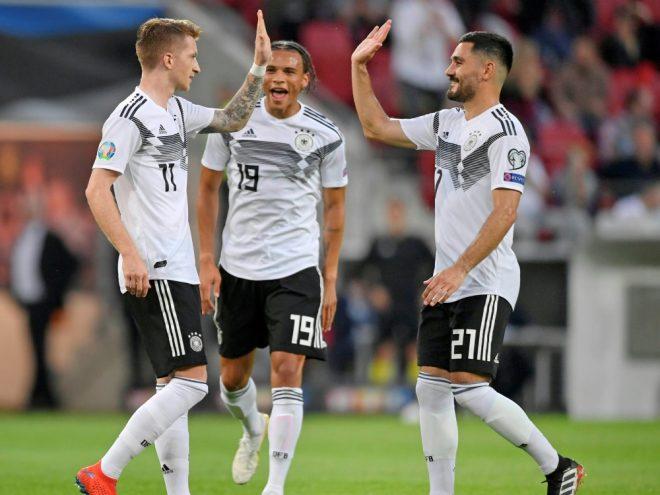 Rückspiel in Estland mit Marco Reus und Ilkay Gündogan